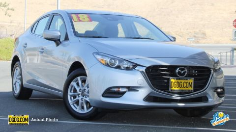 2018 Mazda3 4-Door Sport FWD 4dr Car