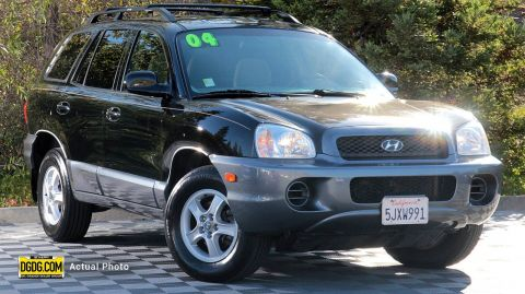 Pre-Owned 2004 Hyundai Santa Fe Base